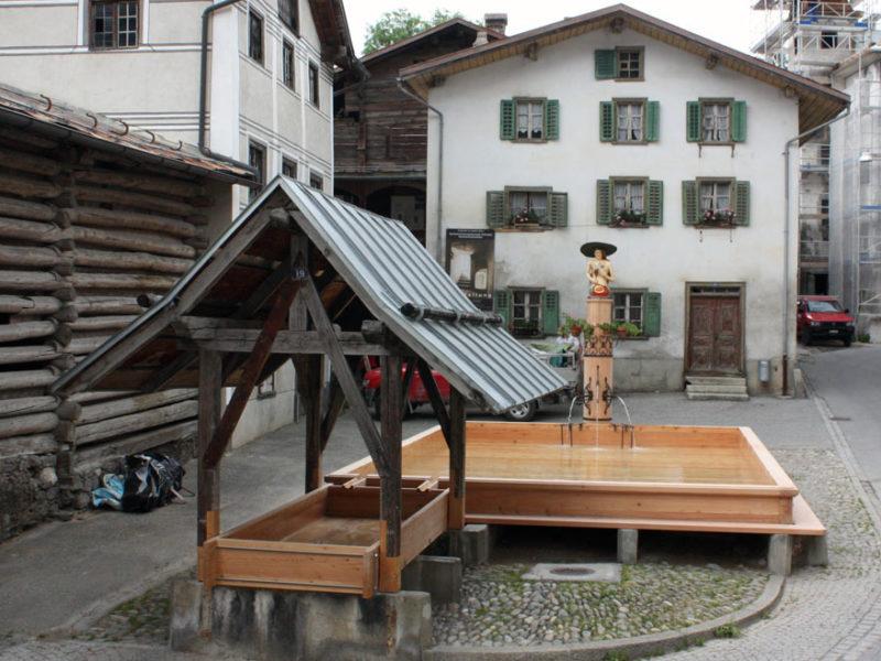 Dorfbrunnen Valendas