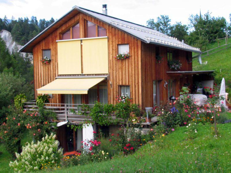 Einfamilienhaus in Valendas