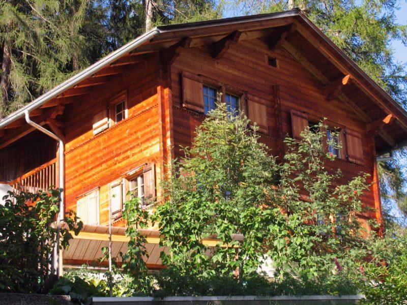 Einfamilienhaus in Versam